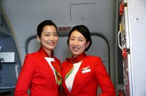 cabin crew Gangnam Style