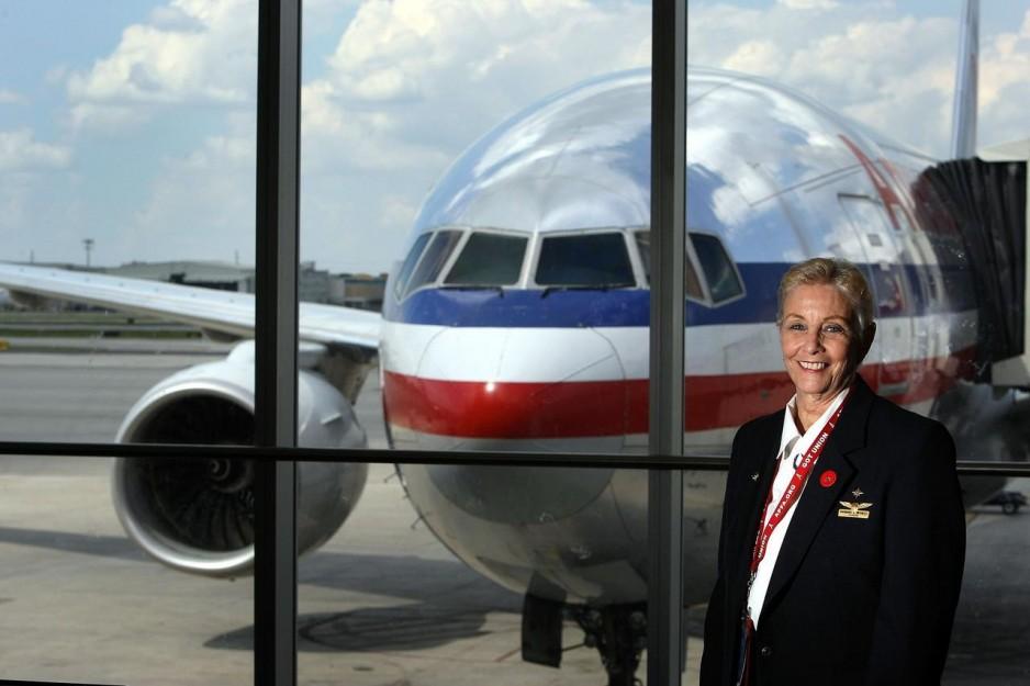 American Airlines Stewardessa