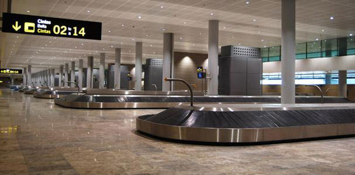 Alicante luggage conveyor belt