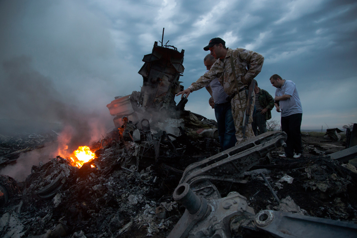 Malaysia Airlines flight MH17 shot down over Ukraine