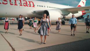 Austrian Airlines cabin crews take the Jerusalema dance challenge