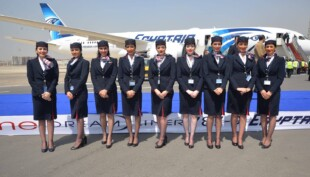 EgyptAir reveals new cabin crew uniforms